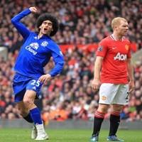 marouane fellaini vs manchester united